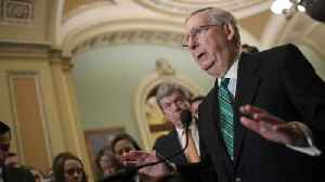 News video: McConnell: Republican Lawmakers Concerned About Tariffs