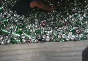 News video: True Aussie Legend Collects Thousands of VB Beer Cans to Make Ultimate 'Ball Pit' in Moonta, South Australia