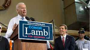 News video: Joe Biden Continues Campaigning For Democrats Across The US
