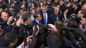 News video: Berlusconi pledges to back League's Salvini as Italy's next PM
