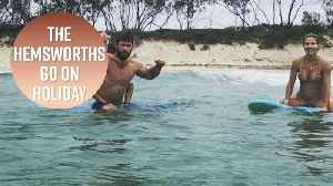 News video: See the Hemsworth's epic family vacay photos