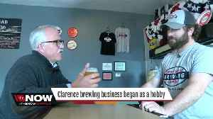 News video: He turned a hobby into a popular brew business