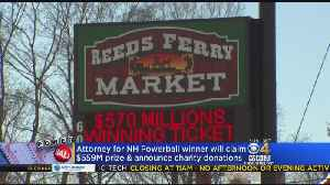 News video: Mystery New Hampshire Powerball Winner To Announce Donation