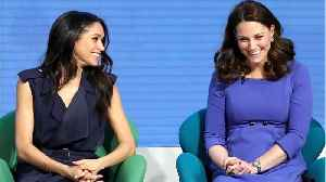 News video: How Meghan Markle And Kate Middleton Are Preparing To Be Royal Sisters-In-Law