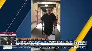 News video: Sheriff Deputy injured in 1 October shooting returns to work