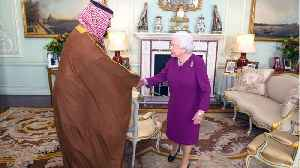 News video: The Saudi Crown Prince Met The Queen For Lunch On Day 1 Of His Extravagant State Visit