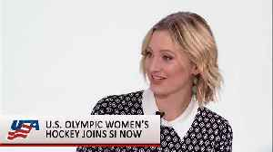 News video: US WOMENS HOCKEY INTERVIEW (FOR YOUTUBE)