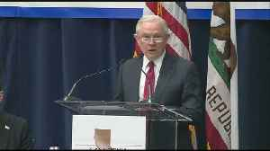 News video: Attorney Jeff Sessions Speaks In Sacramento