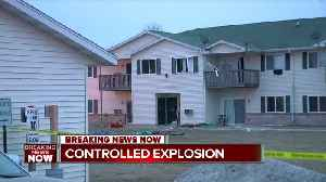 News video: Specialists to detonate chemicals in fatal Beaver Dam apartment explosion