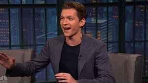 News video: New 'Avengers: Infinity War' Billboard Sparks Surprised Reaction From Tom Holland