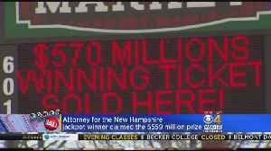 News video: Mystery Powerball Winner To Donate To New Hampshire Charities