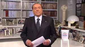 News video: Berlusconi backs far-right ally for premier