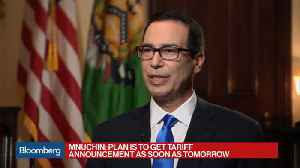 News video: Mnuchin Says Nafta Is Old, Trump Wants a Better Deal