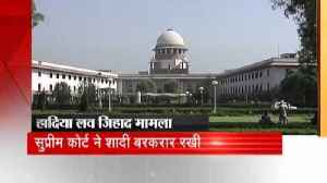News video: SC uphold marriage by canceling the High Court verdict in Hadiya love jihad case