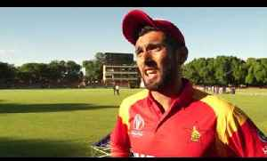 News video: ICC World Cup Qualifier | Afghanistan v Zimbabwe highlights | Cricket World TV