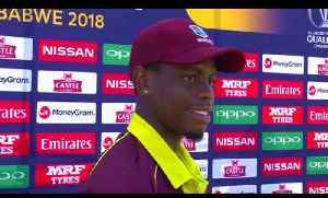 News video: ICC World Cup Qualifier | West Indies v UAE Highlights | Cricket World TV
