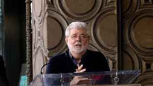 News video: George Lucas Speech at Mark Hamill's Hollywood Walk of Fame Star Unveiling