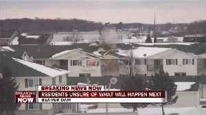 News video: Displaced residents after apartment explosion unsure of what will happen