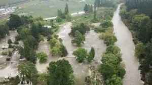 News video: Flooding in New Zealand's Esk Valley Captured From the Air