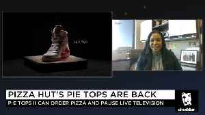 News video: Pizza Hut's New Shoes Are the Latest Innovation in Food Delivery