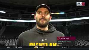 News video: Kevin Love, LeBron James discuss combating mental health in sports