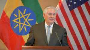 News video: Tillerson: 'I was unaware' Lavrov would be in Ethiopia 'until a few days ago'