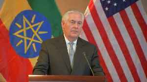 News video: Tillerson: 'Potentially positive signals' coming from North Korea