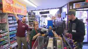 News video: Mystery $560 million Powerball winner finally claims her prize