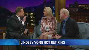 News video: Minnesota's Lindsey Vonn Stops By Late Late Show
