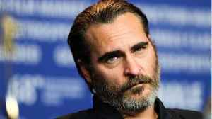 News video: Joaquin Phoenix Turned Down Marvel Roles And Has No Regrets
