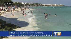 News video: U.S. Issues Travel Warning For Popular Mexican Tourist City