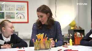 News video: Right Now: Kate Middleton Opens Place2Be Charity Headquarters in London