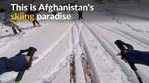 News video: Shedding past violence, Afghan town embraces skiing