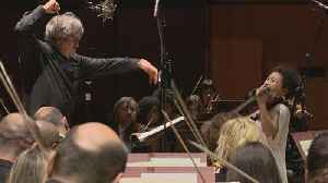 News video: Violin virtuoso Kyung Wha Chung bewitches Rome with Brahms