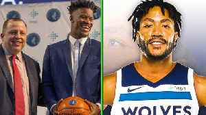 News video: Derrick Rose REUNITES with the Bulls...By Joining the Timberwolves!