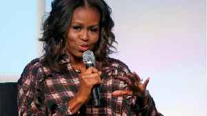 News video: Michelle Obama Gives Advice To Young Girls On International Women's Day