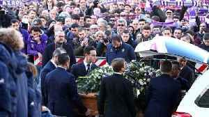 News video: Davide Astori funeral: fans and football stars bid farewell