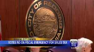 News video: Redding City Council votes no on fiscal emergency
