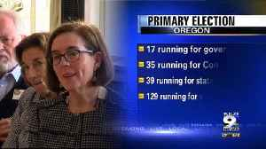 News video: 17 candidates file to run for governor in Oregon