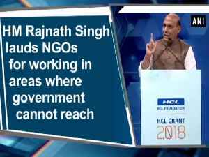 News video: HM Rajnath Singh lauds NGOs for working in areas where government cannot reach