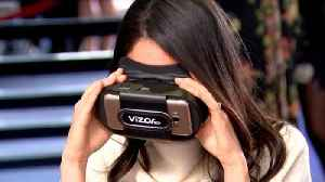 News video: Meghan Markle and Prince Harry Wear Virtual Reality Goggles to Promote STEM