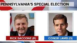 News video: Trump to rally for Rick Saccone in Pennsylvania's special election