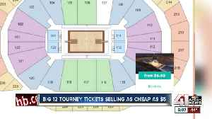 News video: Tickets still available for Big 12 Tournament