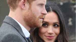 News video: Meghan Markle Baptized At St. James Palace