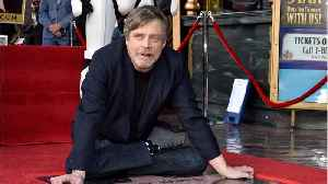News video: Hamill's Hollywood Walk Of Fame Star Brings Out The Force
