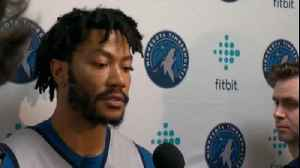 News video: Derrick Rose Ready For Wolves