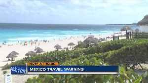 News video: Locals avoiding Mexico after state department issues travel warning on spring break hot spot