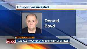 News video: Lake Placid councilman arrested on drug charges