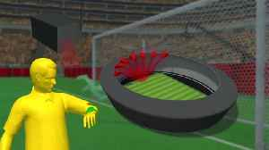 News video: Goal-line technology to be used at the 2018 FIFA World Cup