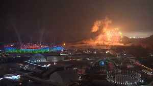 Fireworks mark opening of Winter Paralympics [Video]